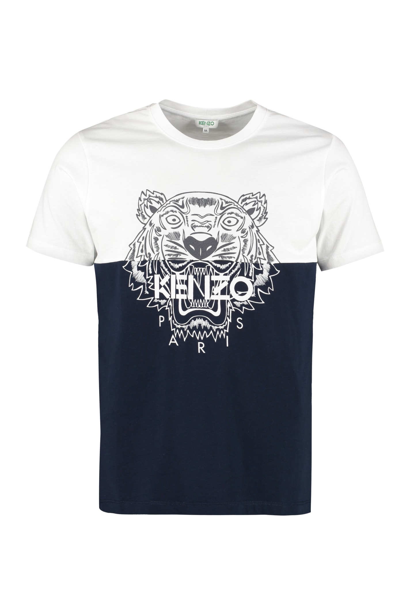 Kenzo T-shirts TIGER COTTON T-SHIRT