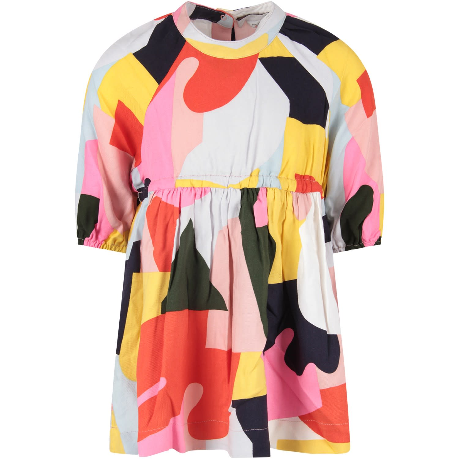 Stella McCartney Kids Color Block Girl Dress