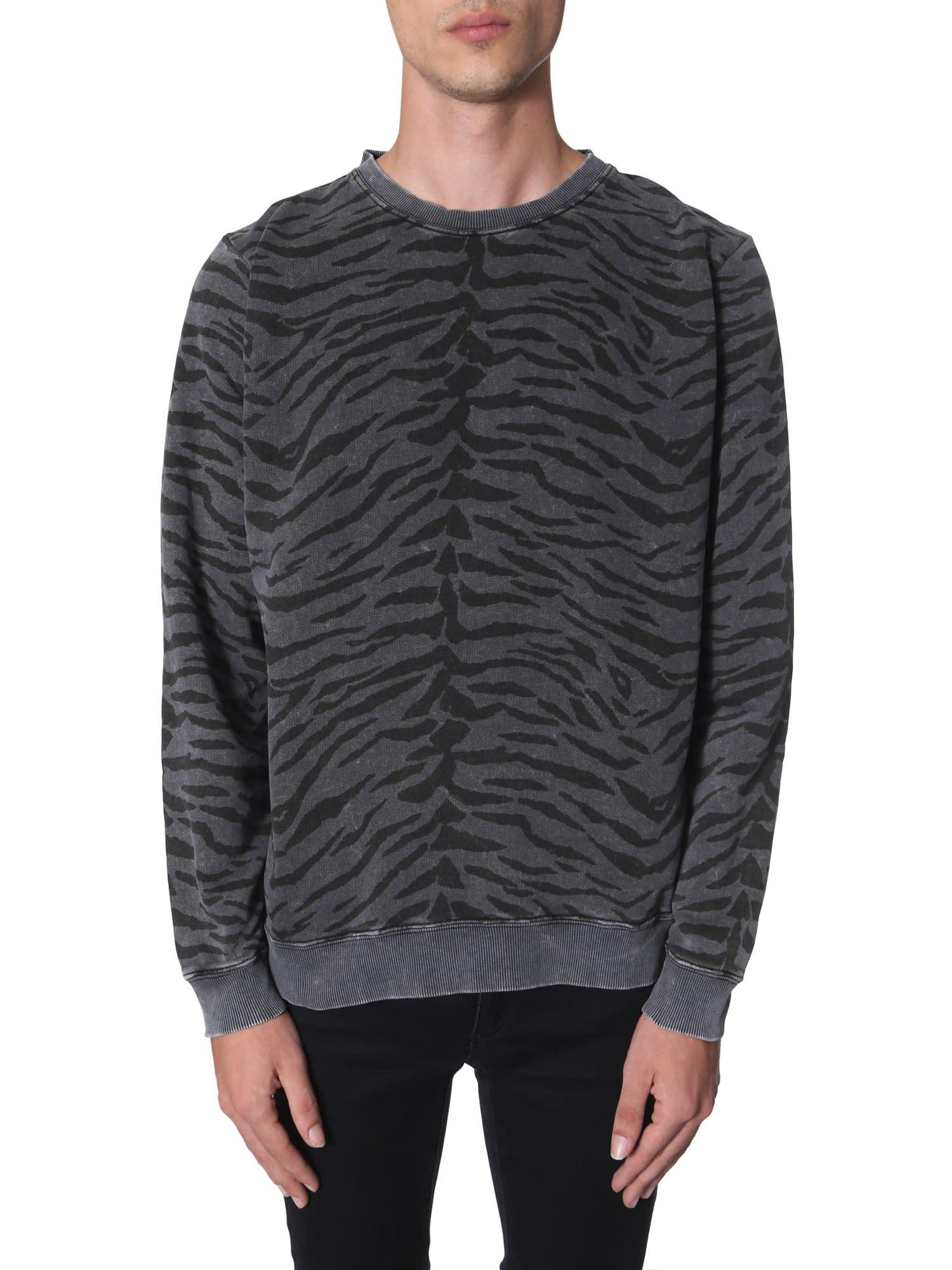 b7f9104bf9 Round Neck Sweatshirt in Grey