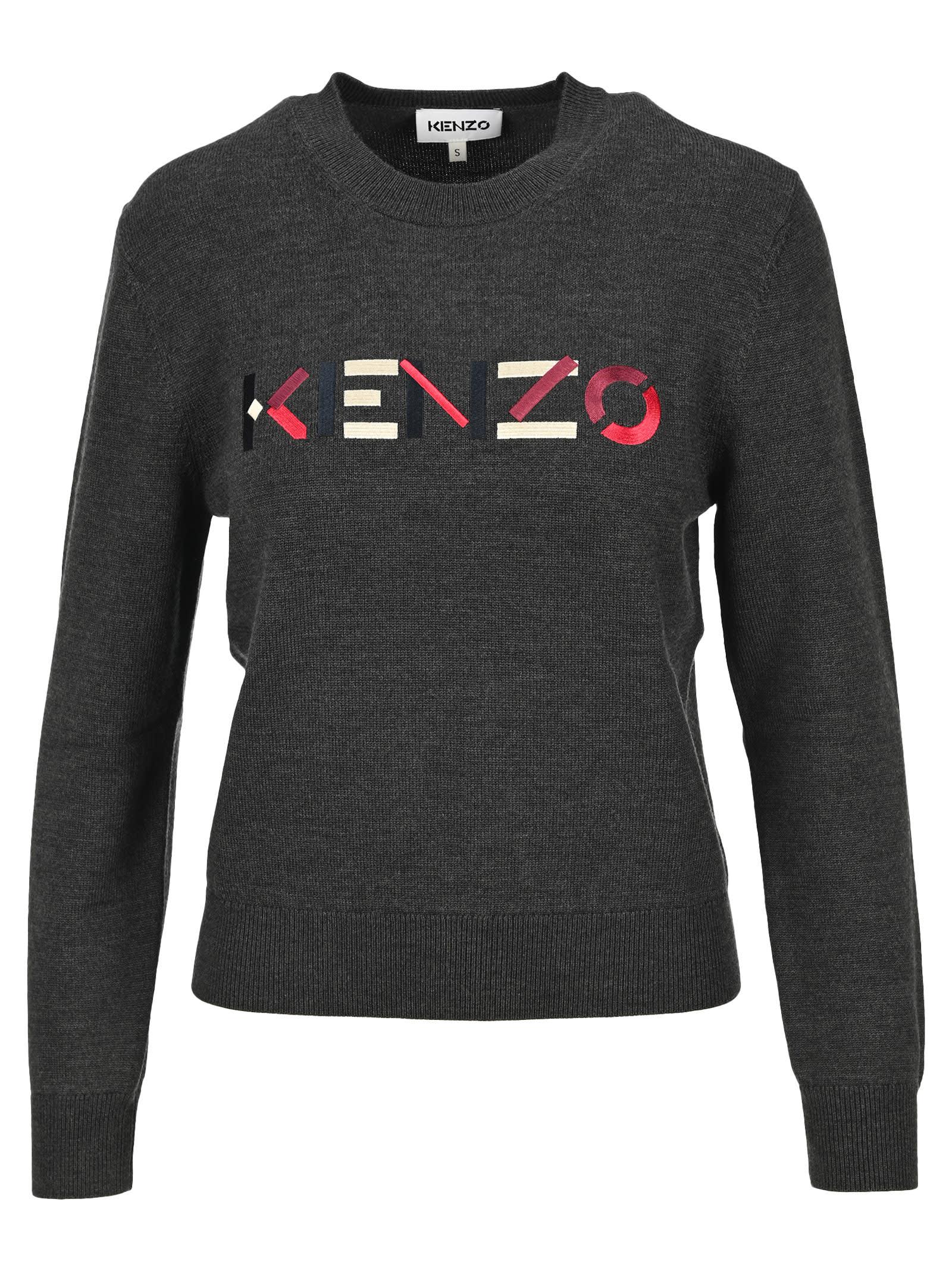 Kenzo Kenzo Logo Multicoloured Jumper