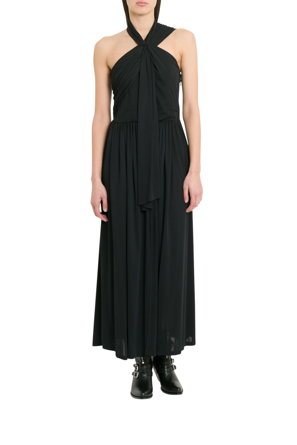 MSGM Long Asymmetric Dress