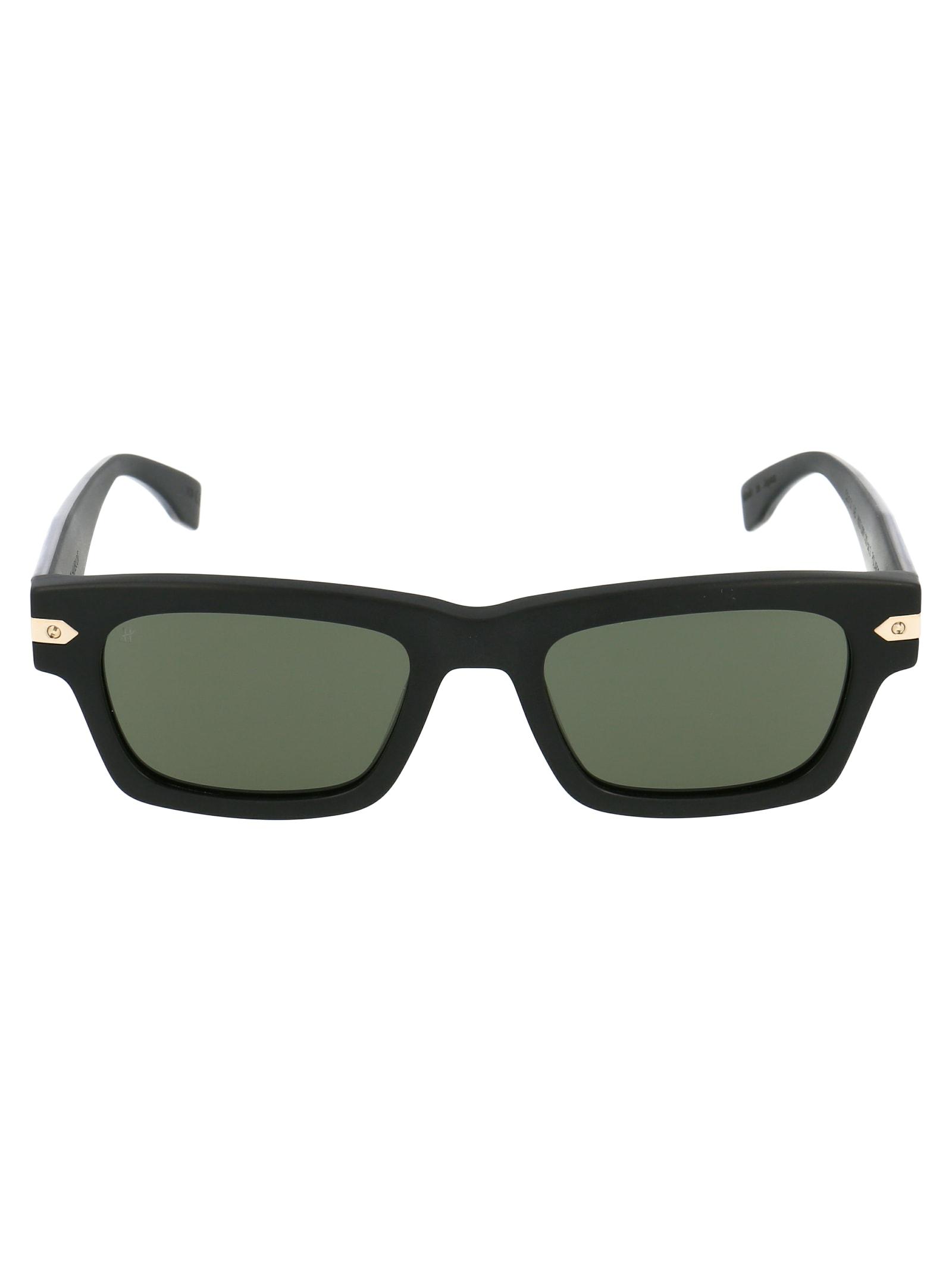 Hublot Sunglasses In Black & Gold
