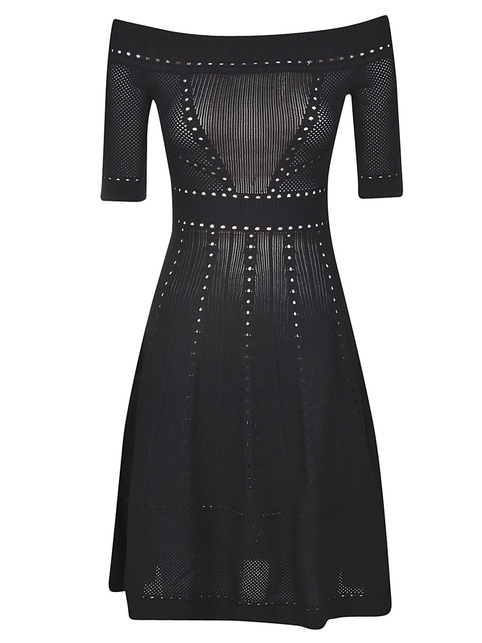 Buy Dsquared2 Knit Flared Dress online, shop Dsquared2 with free shipping