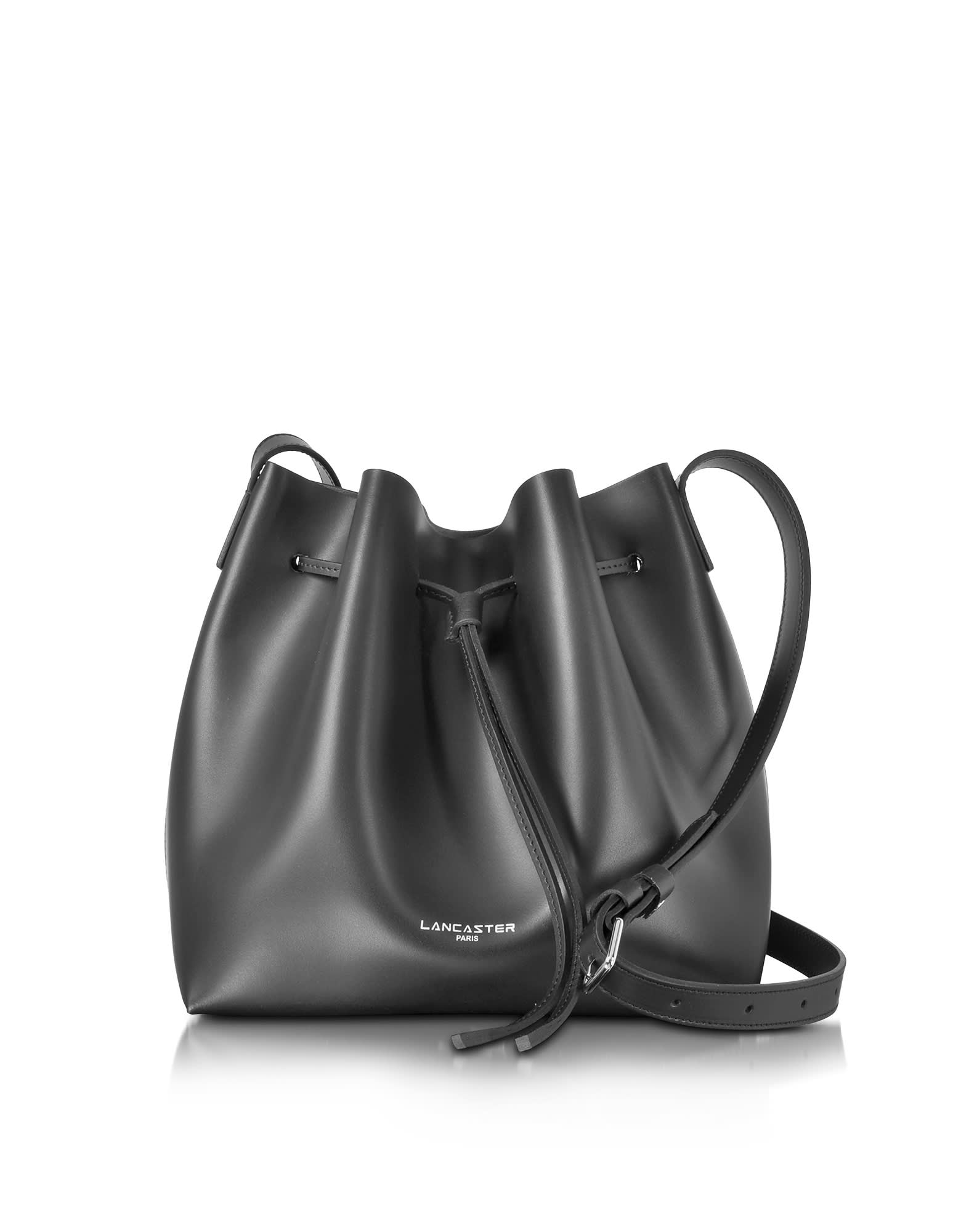 Lancaster PUR SMOOTH LEATHER BUCKET BAG