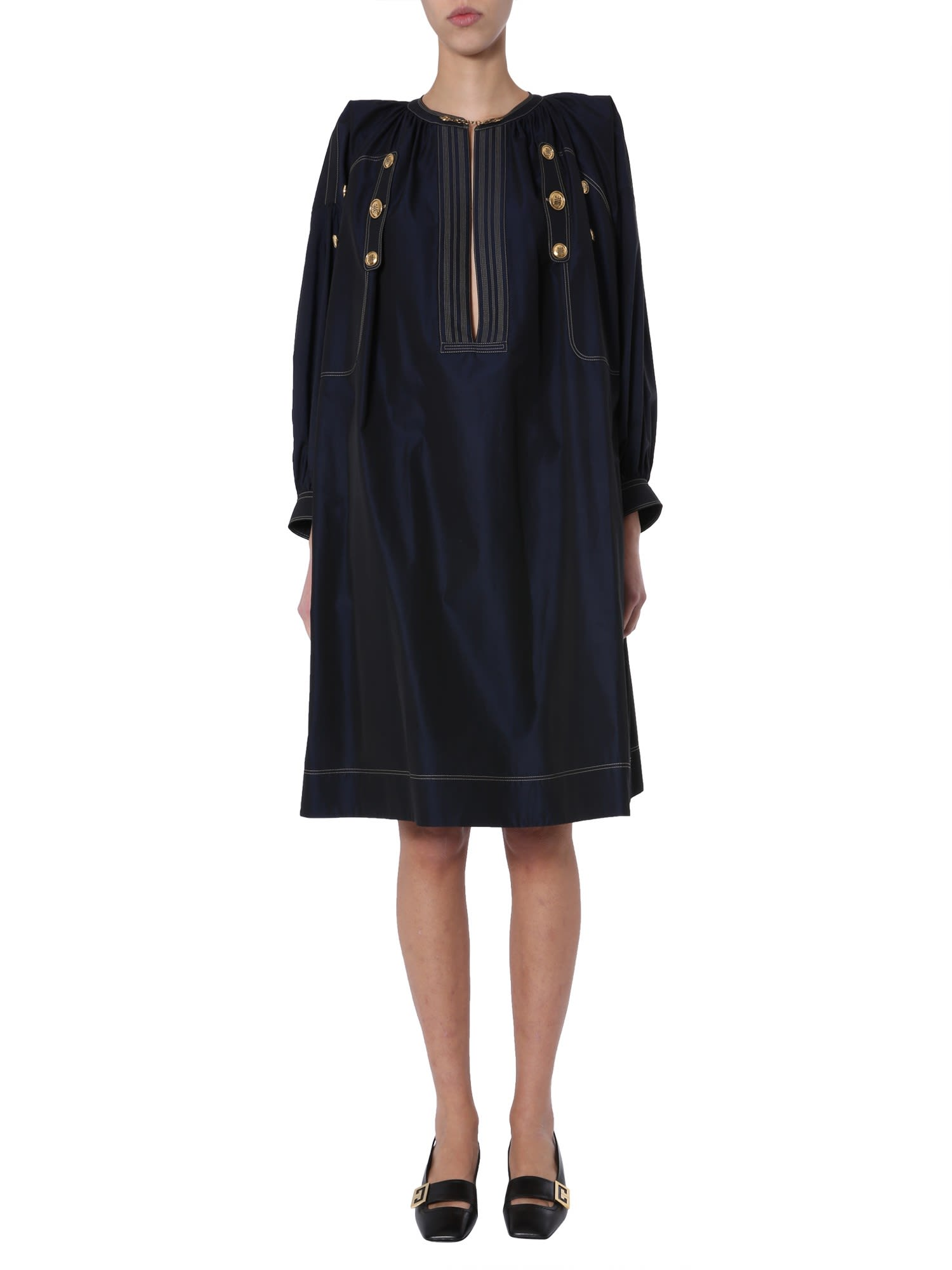 Buy Givenchy Dress With Buttons online, shop Givenchy with free shipping