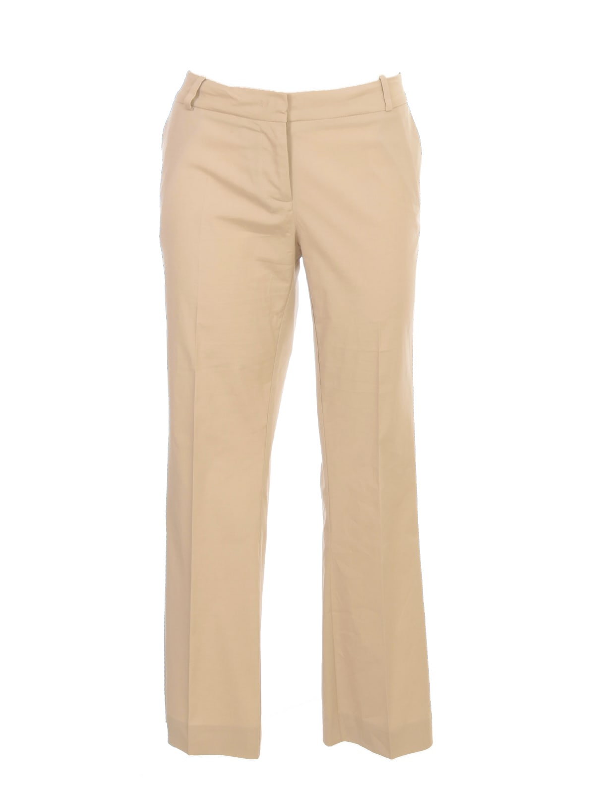 Florette Flared Cropped Pants Cotton Stretch