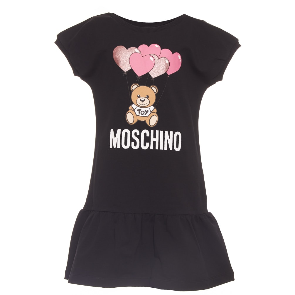 Buy Moschino Heart Balloons Dress online, shop Moschino with free shipping