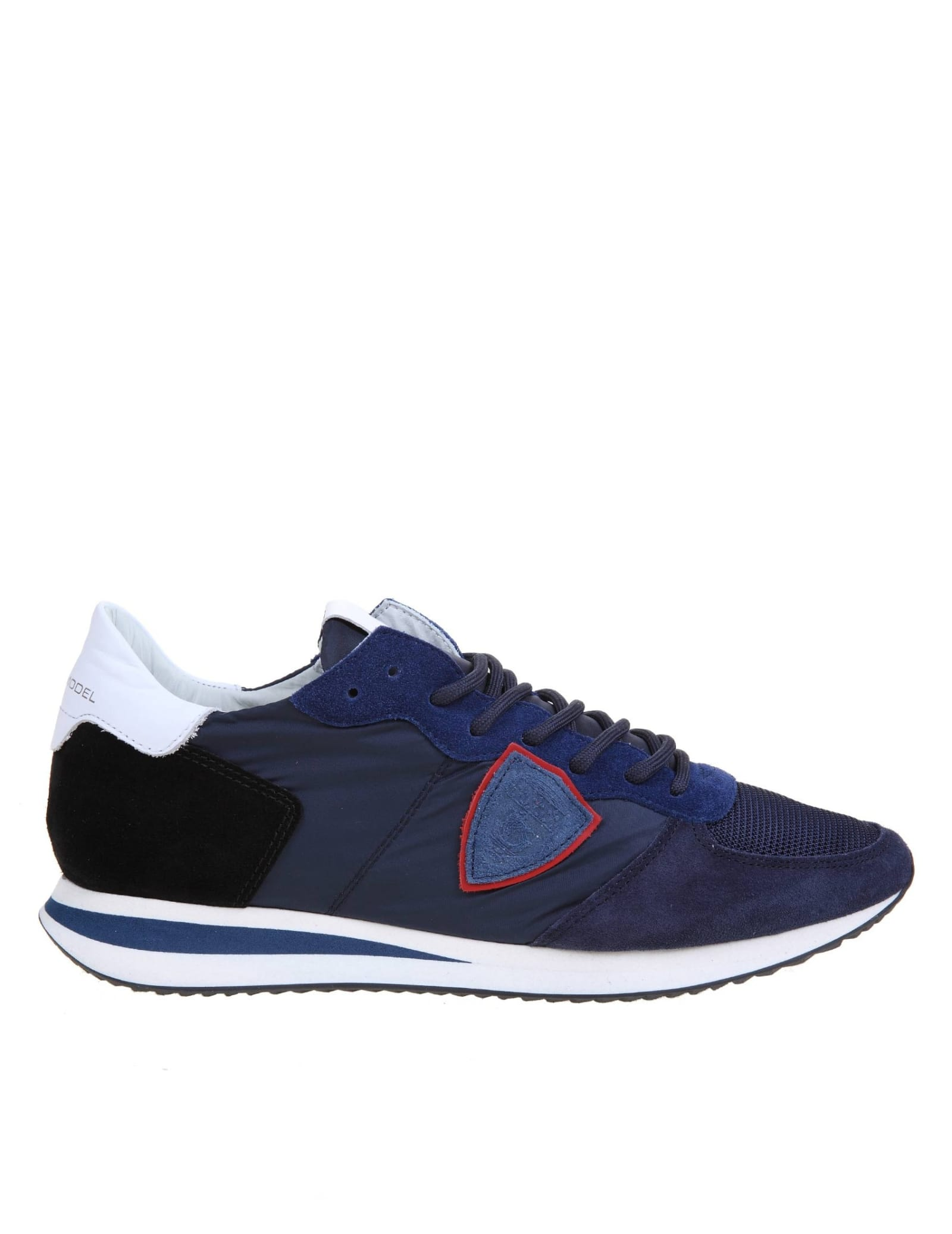 Philippe Model TRPX SNEAKERS IN SUEDE AND NYLON