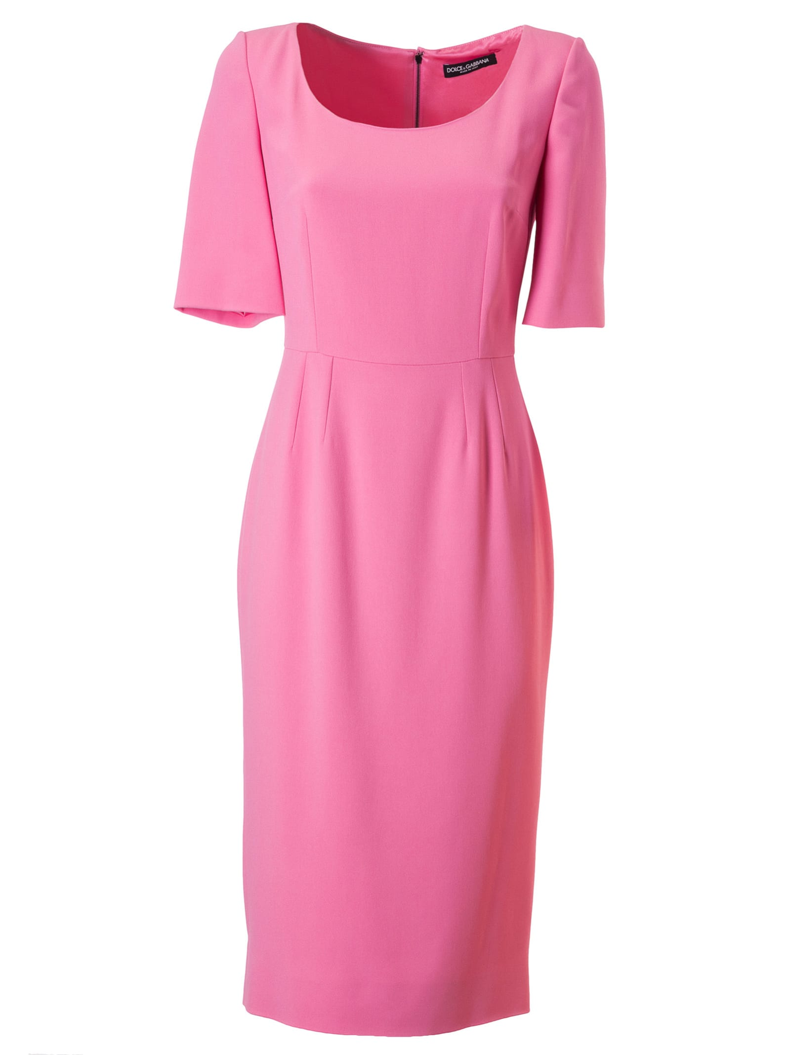 Buy Dolce & Gabbana Back-zipped Dress online, shop Dolce & Gabbana with free shipping