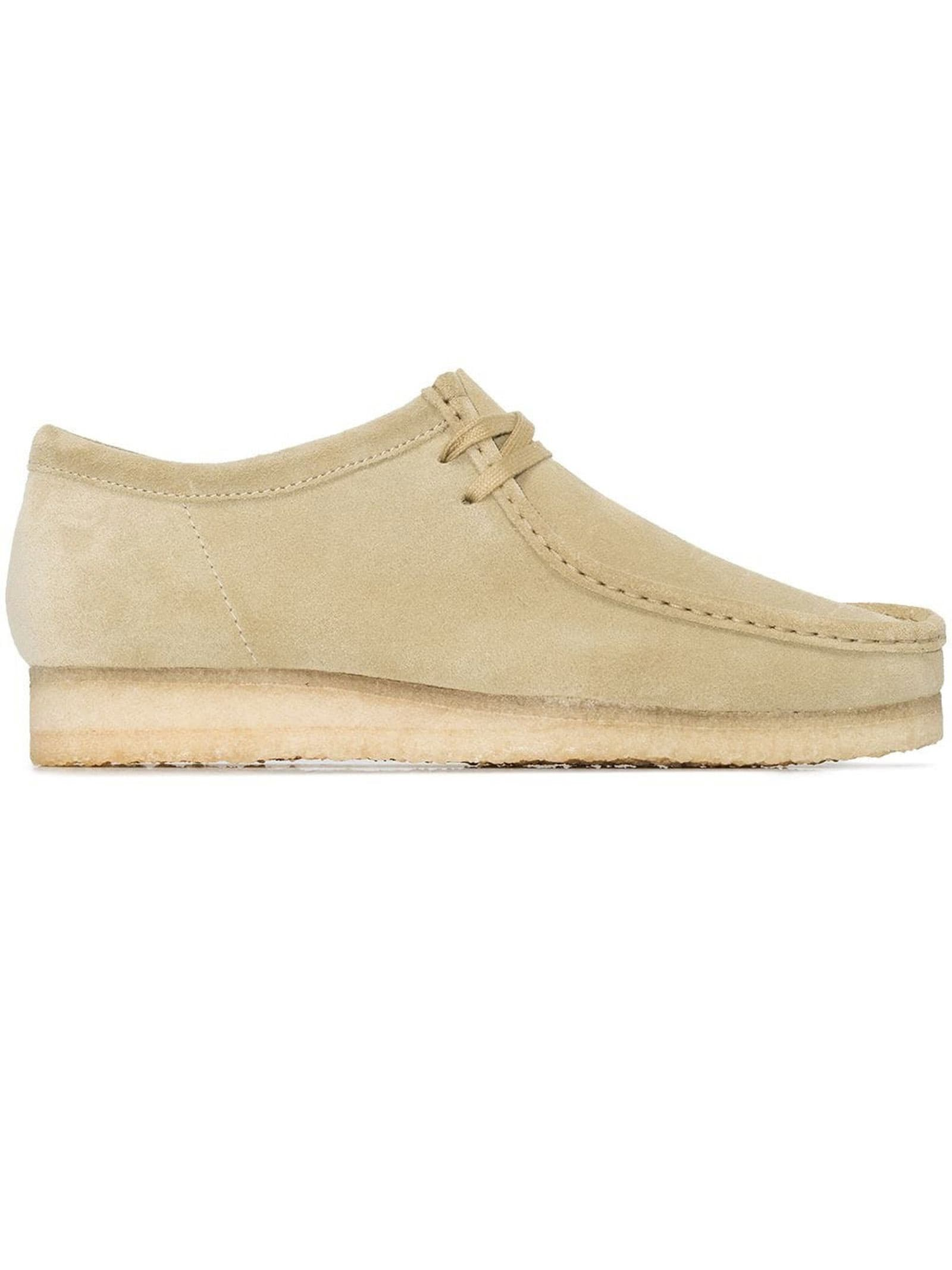 Clarks Suedes MAPLE WALLABEE LACE-UP SHOES