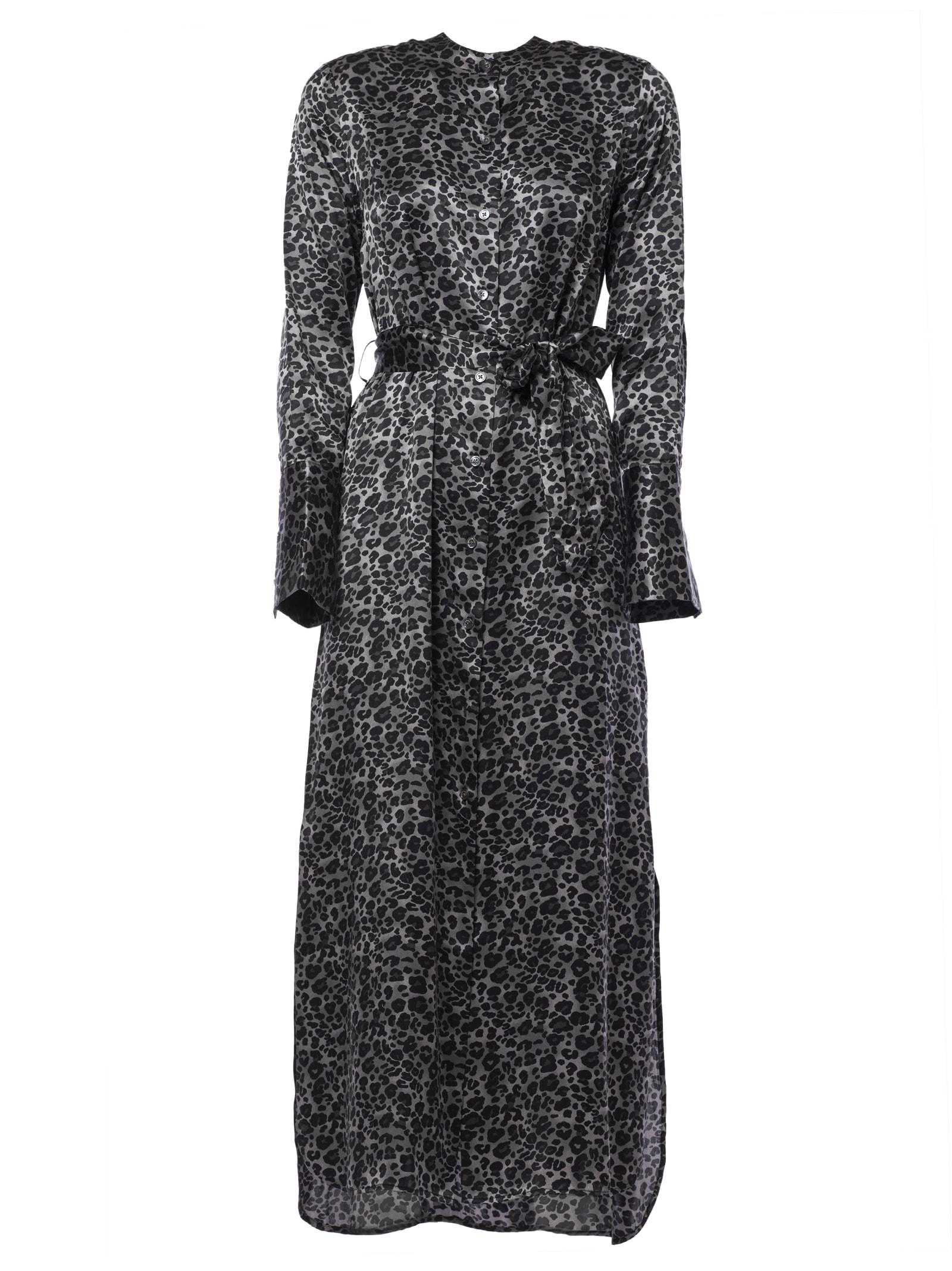 Photo of  Equipment Leopard Print Maxi Dress- shop Equipment  online sales