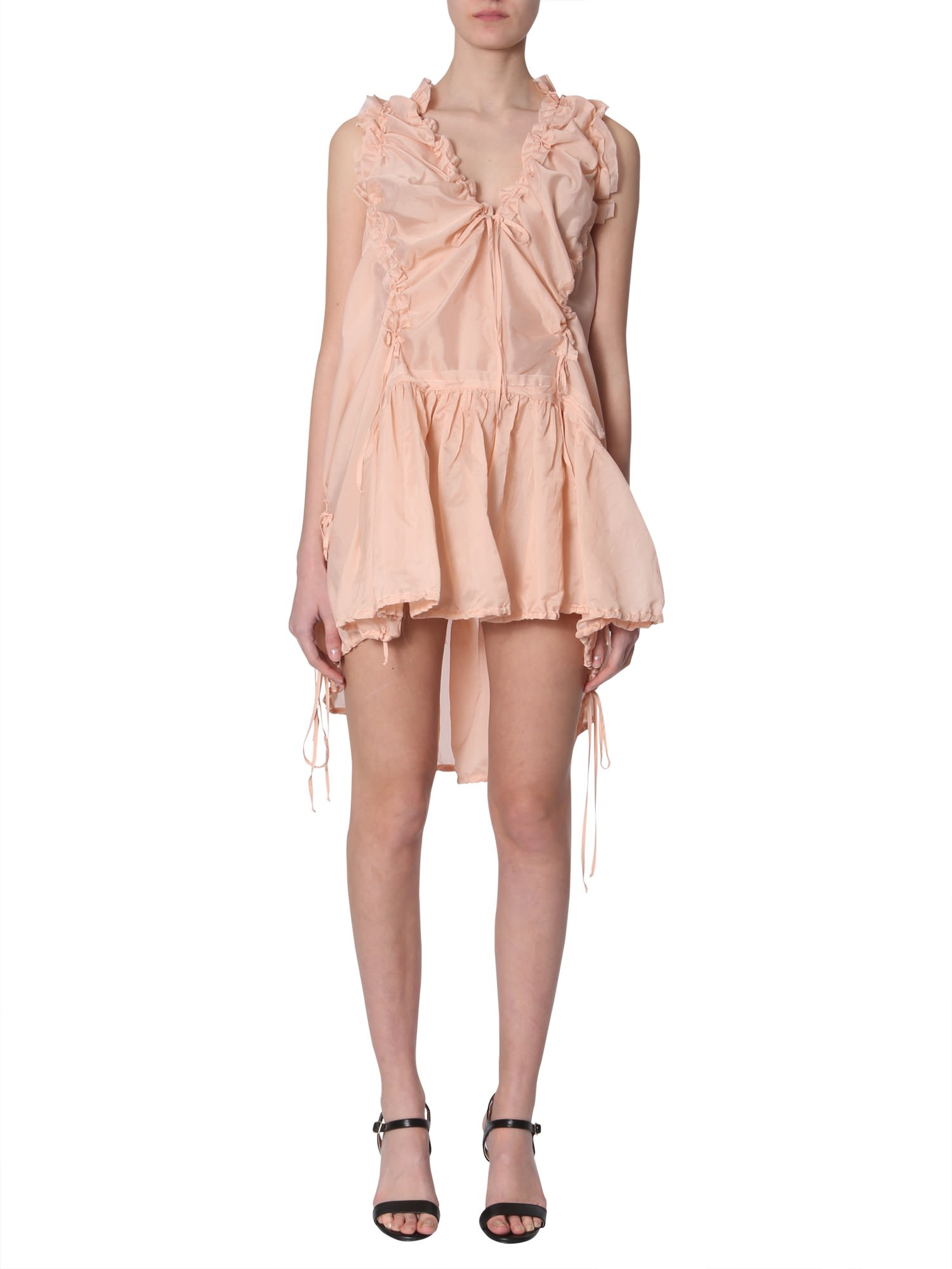 Buy Dsquared2 Draped Dress online, shop Dsquared2 with free shipping