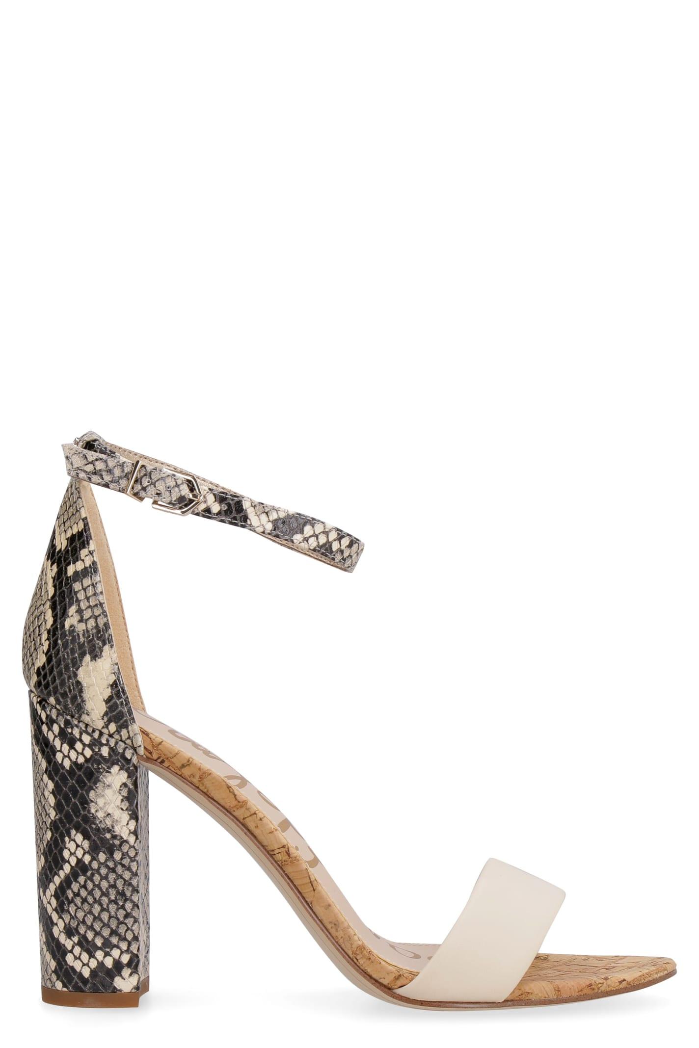 Buy Sam Edelman Yaro Heeled Sandals online, shop Sam Edelman shoes with free shipping