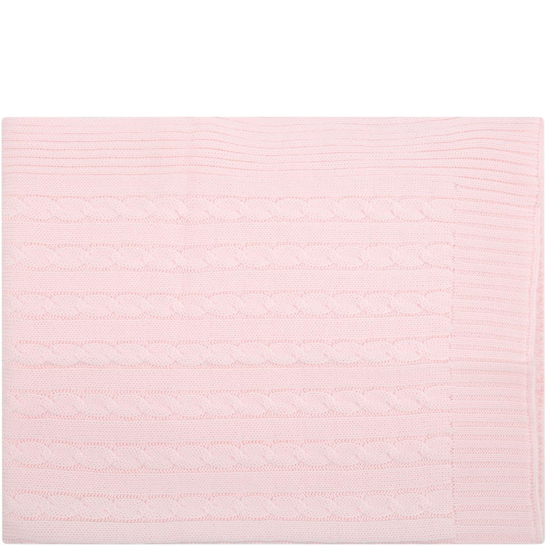 Pink Blanket Foy Baby Girl