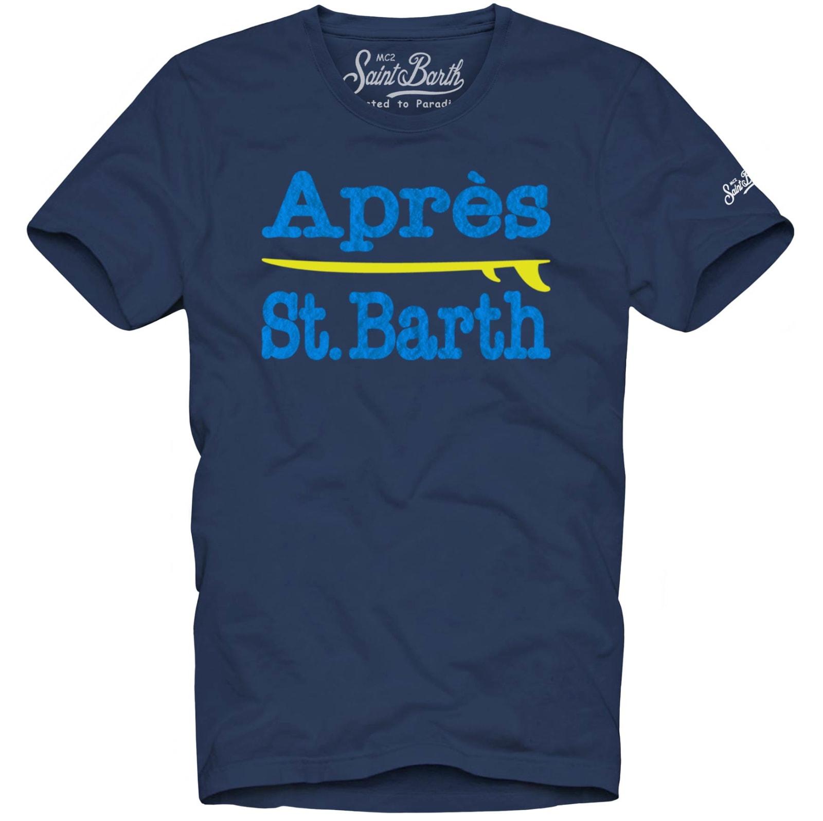 Man T-shirt Après St. Barth Graphic