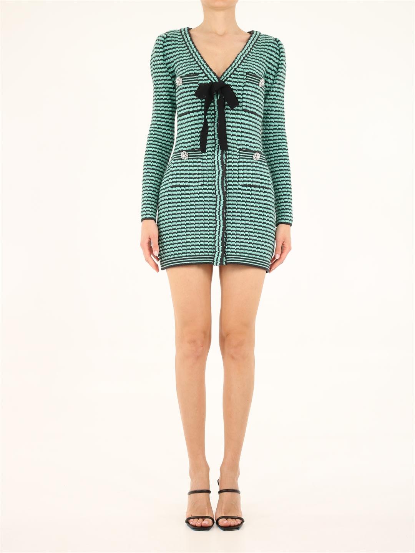 Buy self-portrait Mini Knit Dress online, shop self-portrait with free shipping