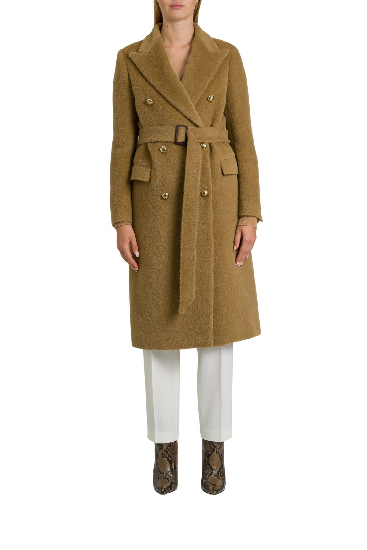 Tagliatore Jole Double-breatsed Coat