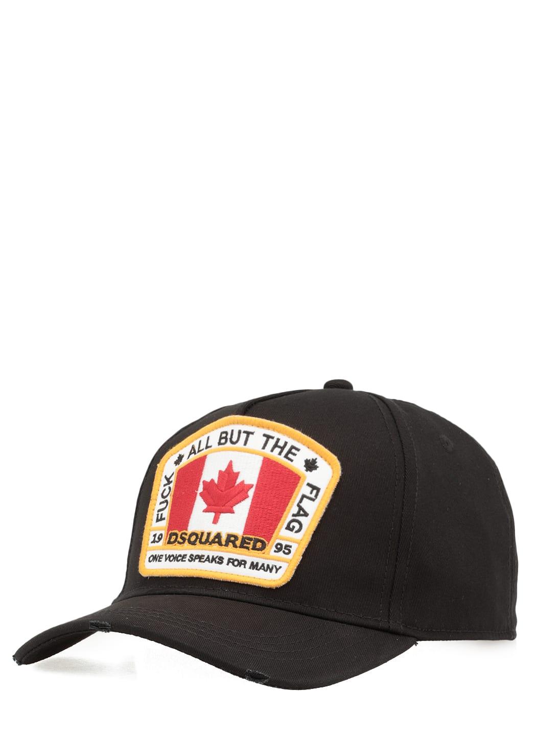 Dsquared2 Caps CANADIAN FLAG BASEBALL CAP