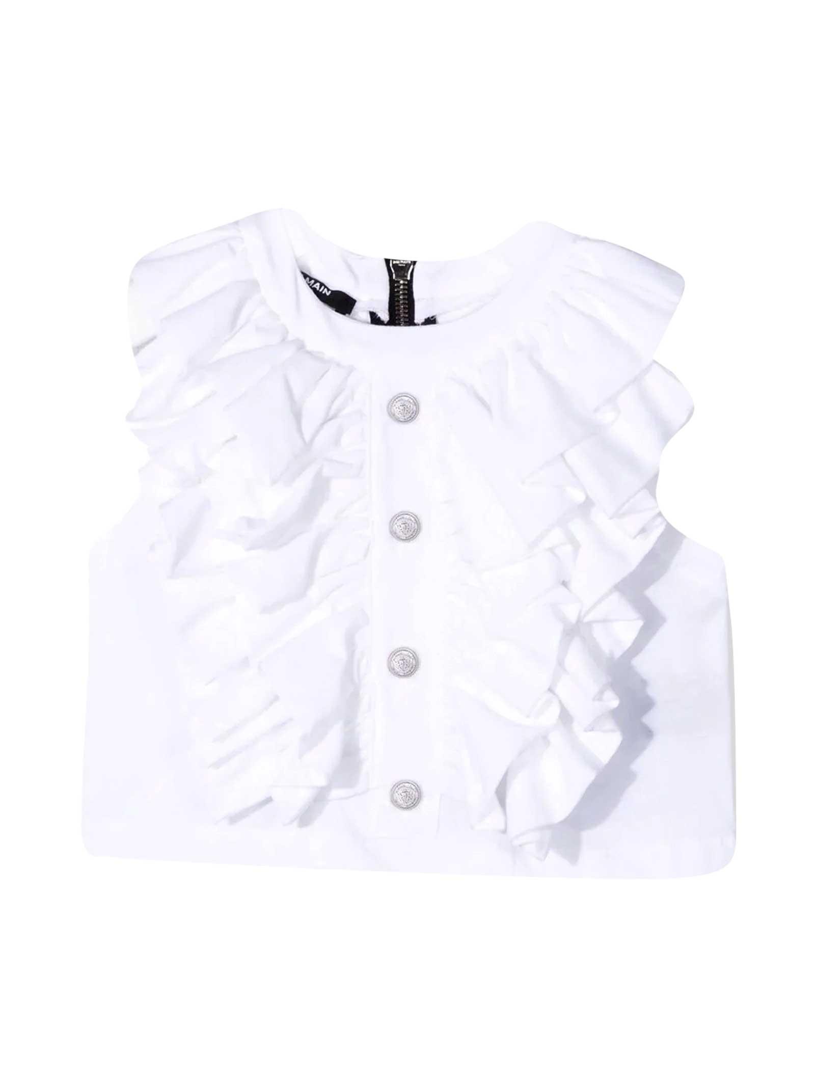 Balmain Cottons WHITE TOP