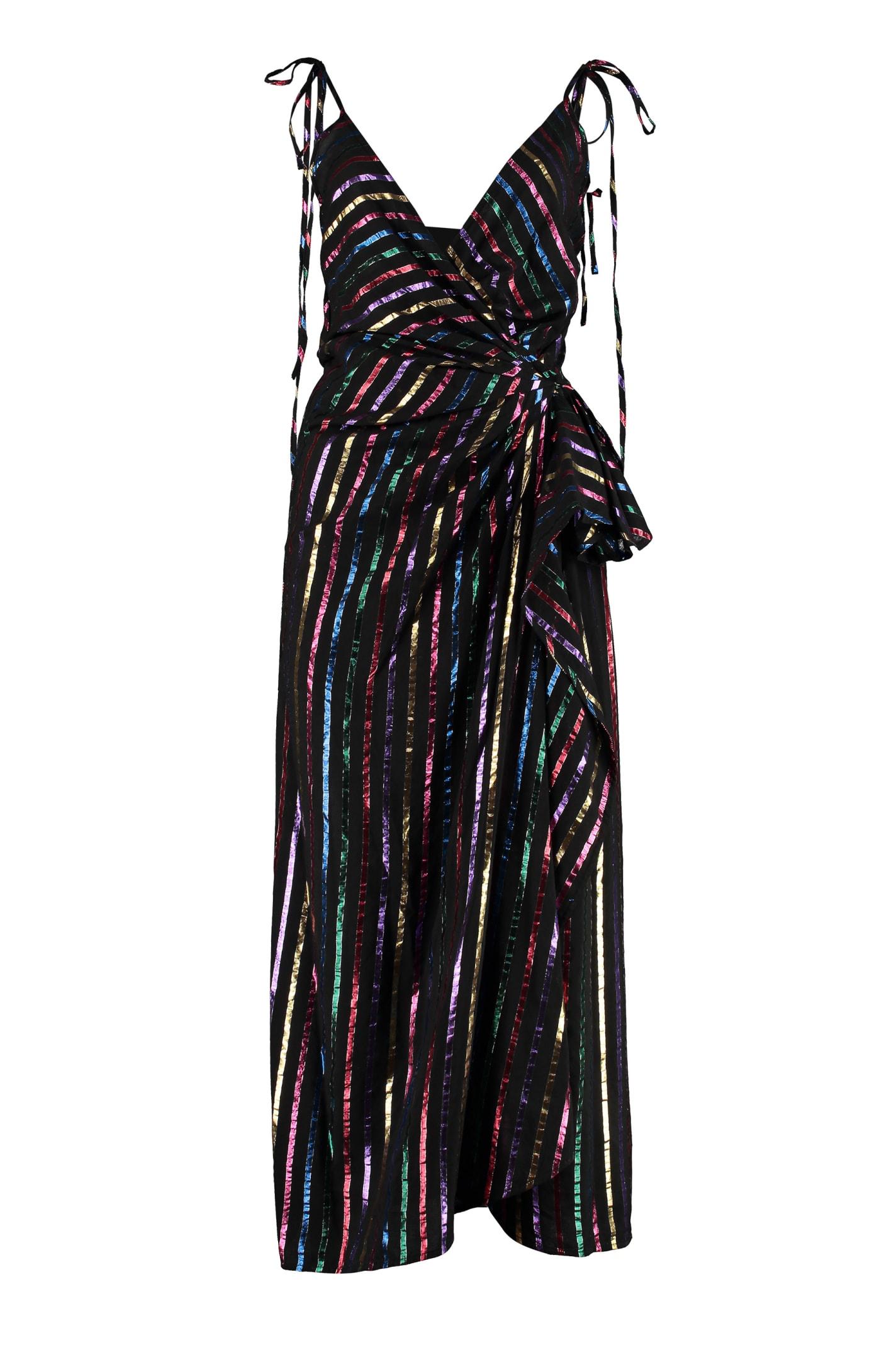 The Attico Wrap-dress