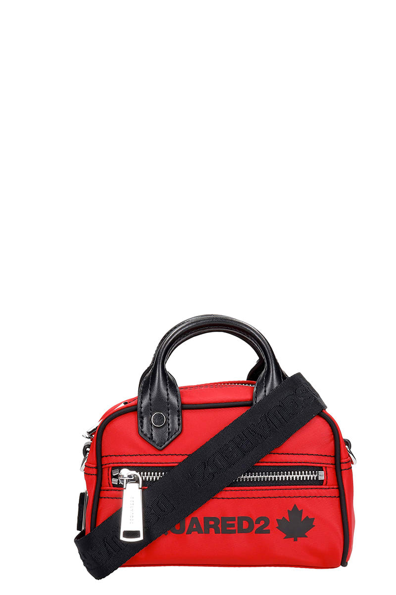 Dsquared2 HAND BAG IN RED NYLON