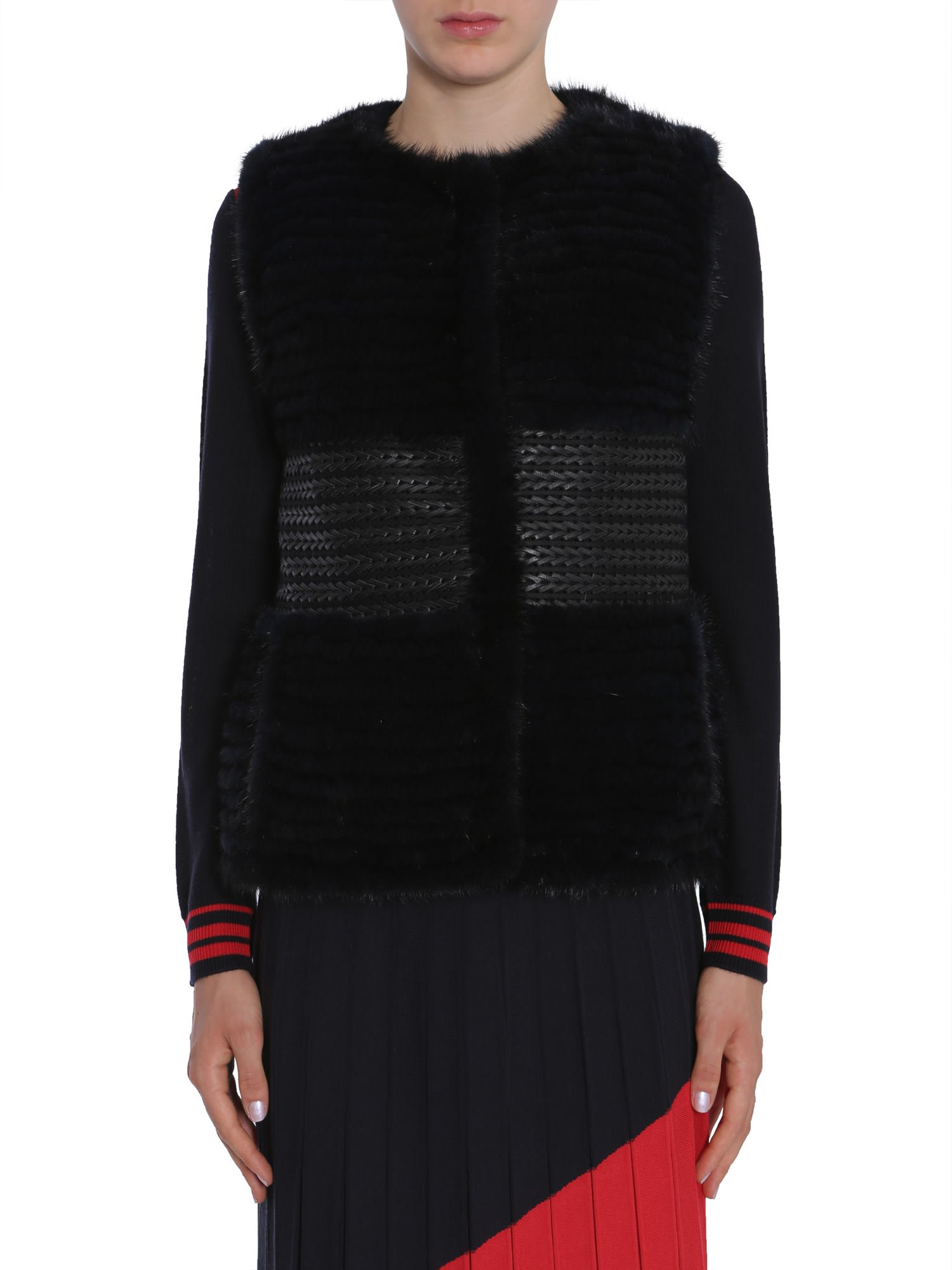 Tory Burch Roxanna Fur Jacket
