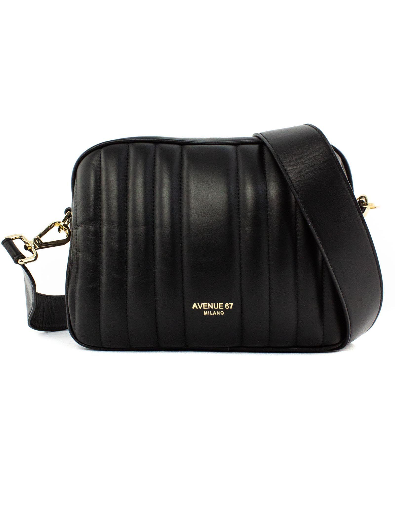 Cloe Small Bag In Black Leather
