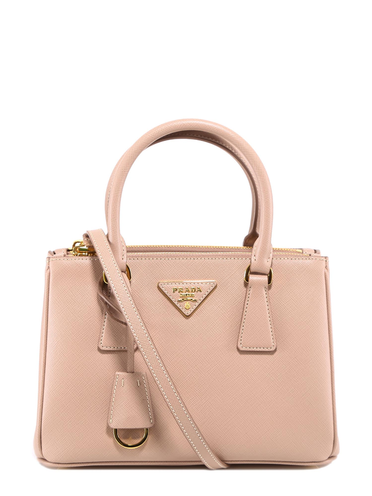 Prada Double-zip Top Tote