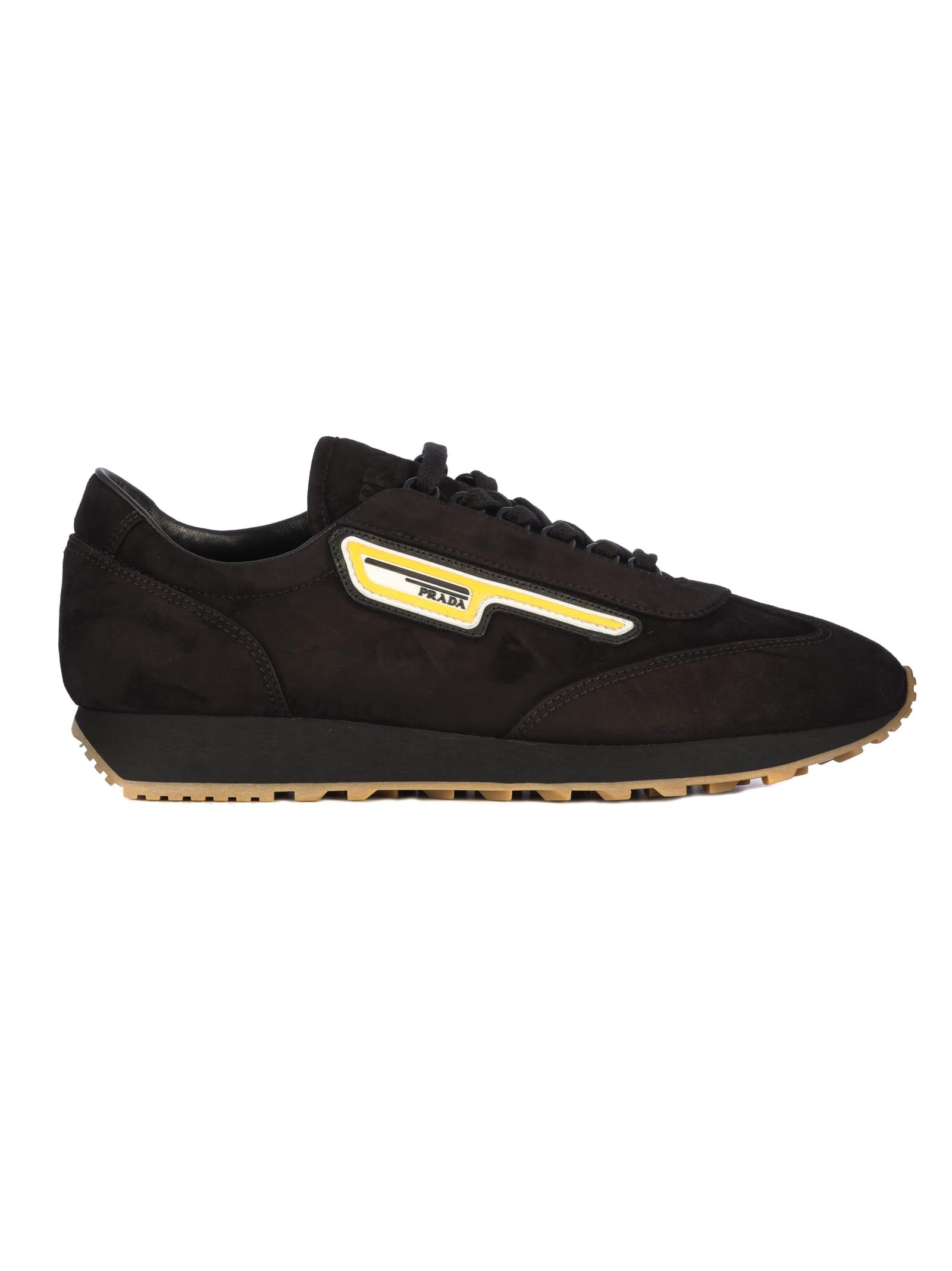 Prada Prada Suede Running Sneakers
