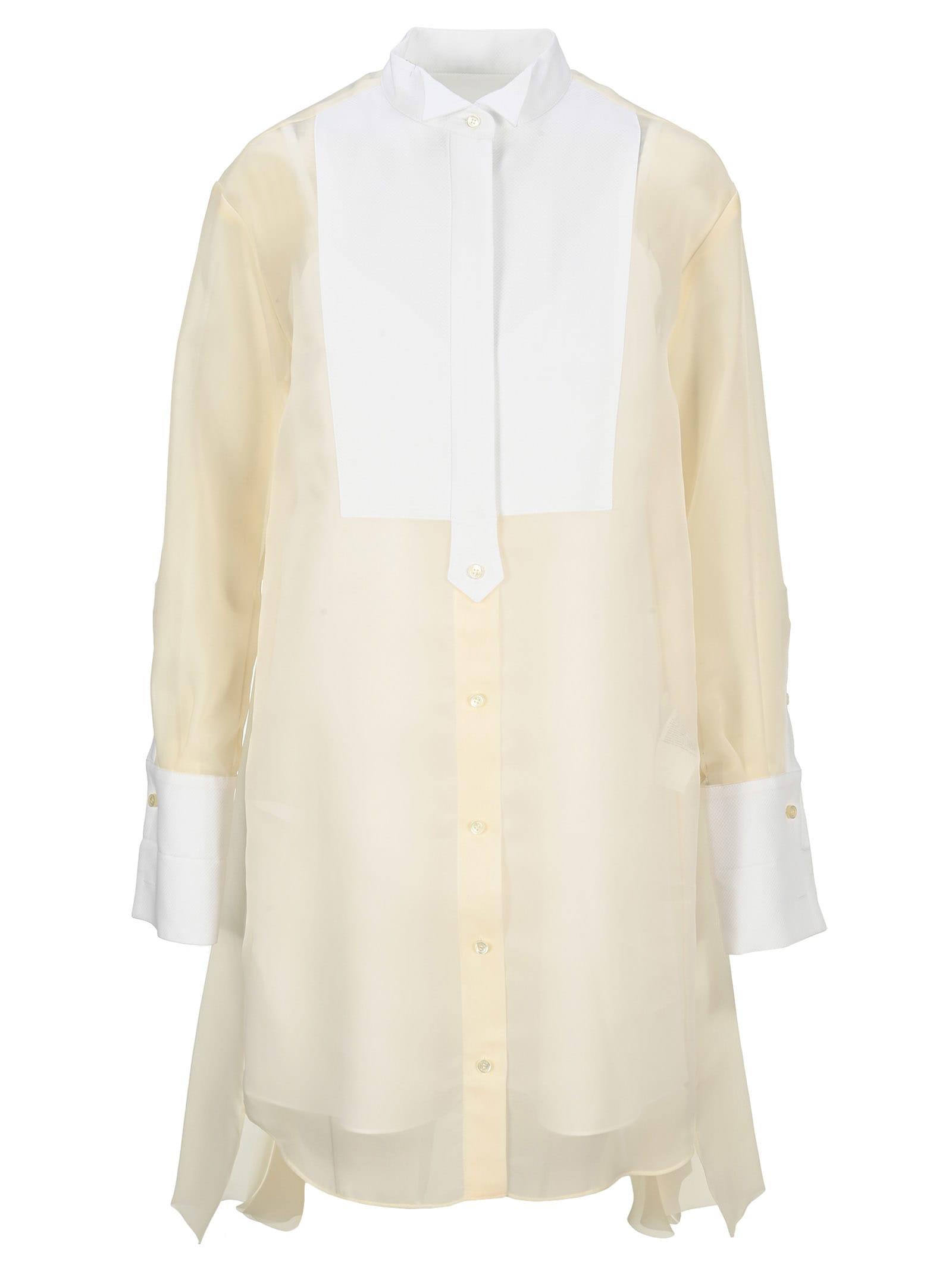 Sacai POPLIN SHIRT DRESS